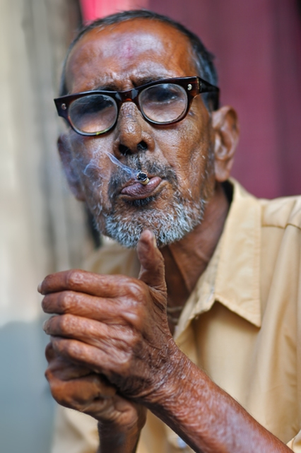An old man from Raj Gram 900px